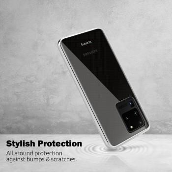 Crong Crystal Slim Cover - Etui Samsung Galaxy A51 (przezroczysty)