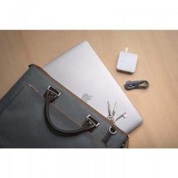 """Moshi iGlaze - Obudowa MacBook Air 13"""" Retina (2020 / 2019 / 2018) (Stealth Black)"""